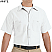 White - Red Kap Men's Industrial Short Sleeve Work Shirt # SP24WH