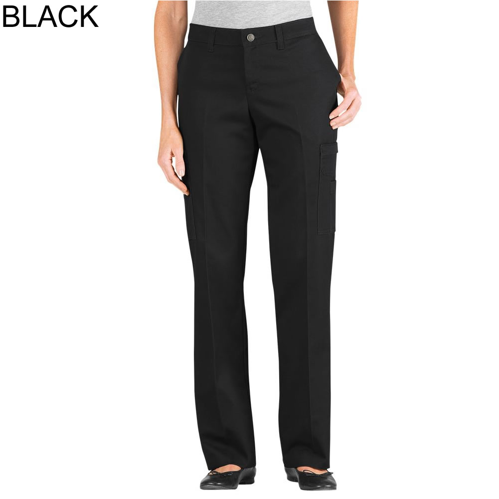 Popular Dickies Womens Relaxed Fit Straight Leg Cargo Pants FP778