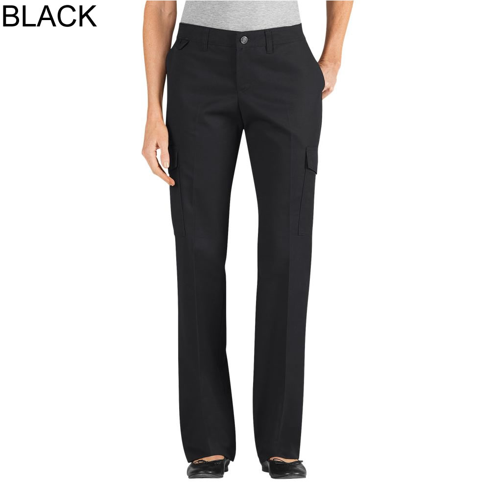 6fb30d9e9b0 Dickies Women s Relaxed Fit Straight Leg Ultimate Server Cargo Pant -  FP537 FPW537
