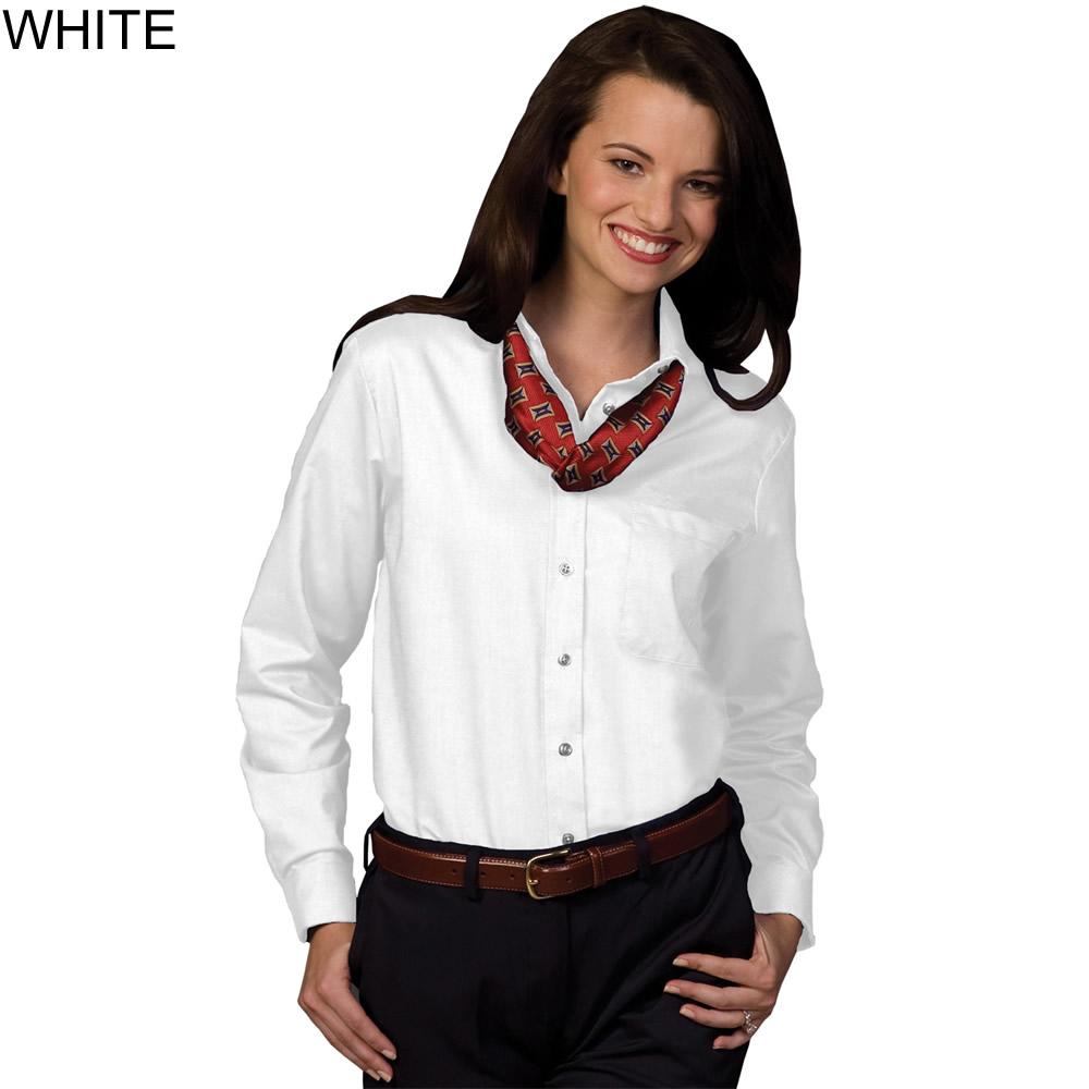 Edwards Women 39 S Long Sleeve Oxford Shirt 5077