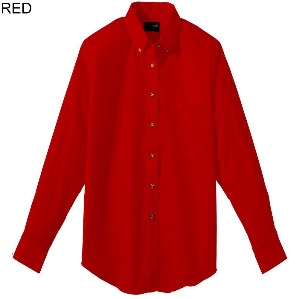 Edwards 5280 women 39 s long sleeve poplin shirt for Long sleeve poplin shirt