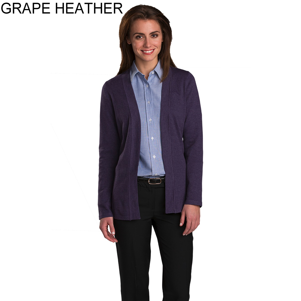 a9f201f4f6 ... Grape Heather - Edwards Women s Open Front Cardigan   7056-506 ...
