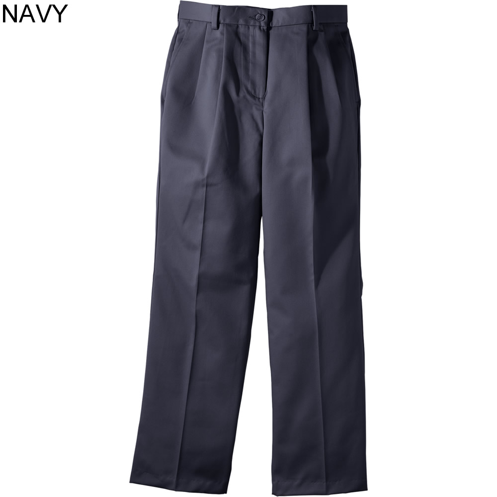 82302516 Edwards Ladies' All Cotton Pleated Chino Pant - 8639