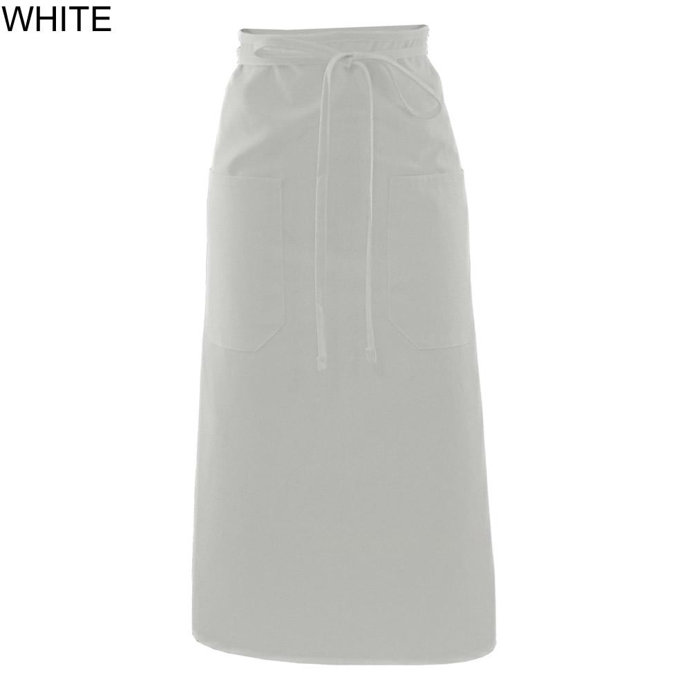 White bistro apron - White Bistro Apron 13