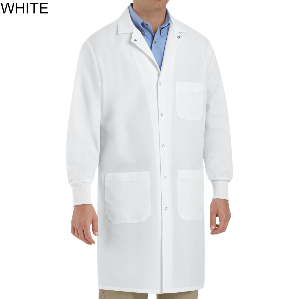 Red Kap Kp70 Unisex Specialized Cuffed Lab Coat