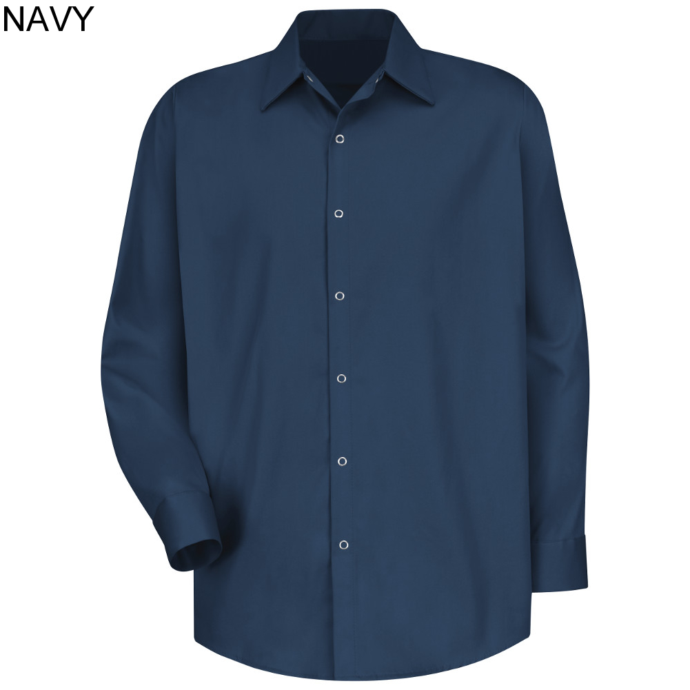 Red kap sc16 100 cotton specialized long sleeve for Red kap 100 cotton work shirt
