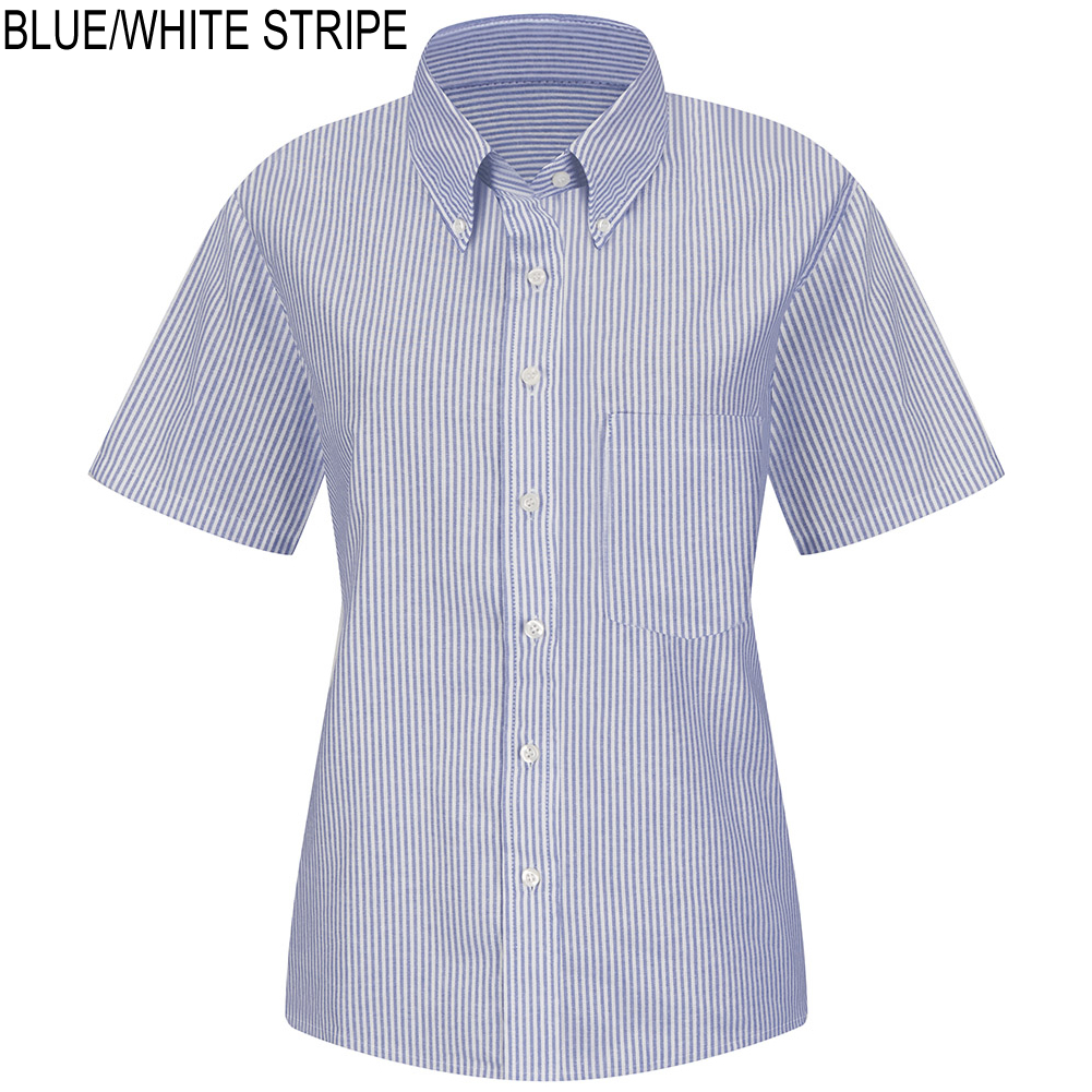 Red Kap SR61 Women's Executive Short Sleeve Button-Down Shirt