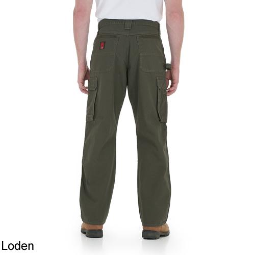 Wrangler Men/'s RIGGS Ripstop Ranger Pants Bark 3W060BR