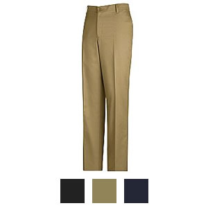 Red Kap Men's Plain Front Cotton Casual Pants - PC44