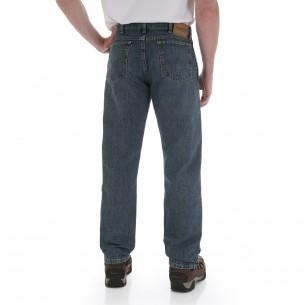 Wrangler Menu0027s Rugged Wear Regular Straight Fit Jeans   31100