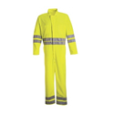 Red Kap Men's Hi-Visibility Zip Front Coverall - CT10HVB