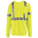 Red Kap Hi-Visibility Long Sleeve T-Shirt - SYK2HV