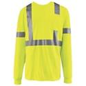 Red Kap Hi-Visibility Long Sleeve T-Shirt - SYK2HV