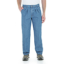 Wrangler Men's Rugged Wear Relaxed Fit Angler Indigo Pants - 33312