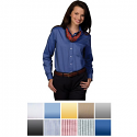 Edwards Women's Long Sleeve Oxford Shirt - 5077