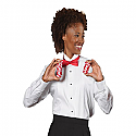Edwards 5390 - Ladies Tuxedo Shirt - Wing Collar - 1/8 Pintuck Bib