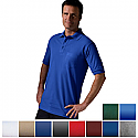 Edwards Men's Short Sleeve Pique Polo Shirt With Chest Pocket - 1505