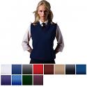 Edwards Women's Acrylic V-Neck Sweater Vest - 561