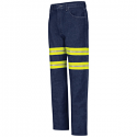 Red Kap Men's Enhanced Visibility Relaxed Fit Jean - PD60ED
