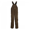 Berne Unlined Washed Duck Bib Overall - B1068