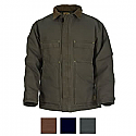 Berne Original Washed Quilt Lined Chore Coat - CH377