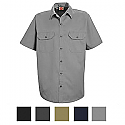 Red Kap ST62 Utility Short Sleeve Work Shirt