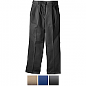 Edwards Ladies' All Cotton Pleated Chino Pant - 8639