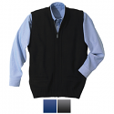 Edwards Men's Heavyweight Full Zipper Sweater Vest With Pockets - 302