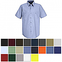 Red Kap Men's Industrial Short Sleeve Work Shirt - SP24