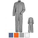 Red Kap CC14 100% Cotton Snap Fronts Coveralls