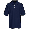 Red Kap 7702 Men's Basic Pique Polo Shirt