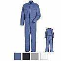 Red Kap CC16 100% Cotton Button Front Coveralls