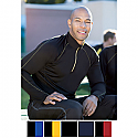 Ash City RADAR Men's North End Half-Zip Performance Long Sleeve Tops - 88187