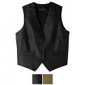 Edwards Ladies Diamond Brocade Vest - 7390