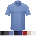 Red Kap Men's Performance Knit Flex Series Pro Polo - SK90