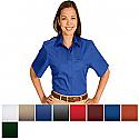 Edwards Ladies' Cotton Plus Twill Short Sleeve Shirt - 5740