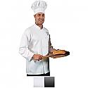 Edwards Unisex Classic Full Cut Long Sleeve Chef Coat - 3302