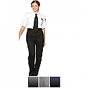 Edwards Ladies Security Flat Front Polyester Pant - 8591