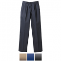 Edwards Ladies' Pleated Front Casual Chino Pant - 8679