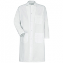 Red Kap 4016 Gripper-Front Butcher Coat - 4016WH