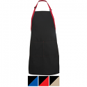 Edwards Bib Apron-Color Blocked - 9028