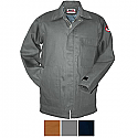 Walls Flame Resistant Insulated Brown Chore Coat - FRO35376