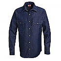 Red Kap SD78 Utility Denim Western Long Sleeve Shirt