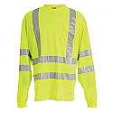 Berne Hi-Visibility Long Sleeve Pocket Shirt - HVK008