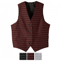Edwards Ladies Swirl Brocade V-Neck Vest - 7391