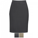Edwards Ladies' Intaglio Microfiber Straight Skirt - 9761