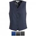 Edwards Ladies' Synergy Washable High-Button Vest - 7526
