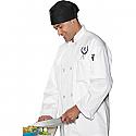 Edwards Casual Full Cut Chef Coat - 3300