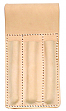 Bourn Tough LT-TH 3-Molded Pockets Top Grain Leather Tool Pouch/Tool Holder