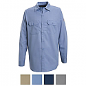 Bulwark SEW2 Button Front Long Sleeve Work Shirt